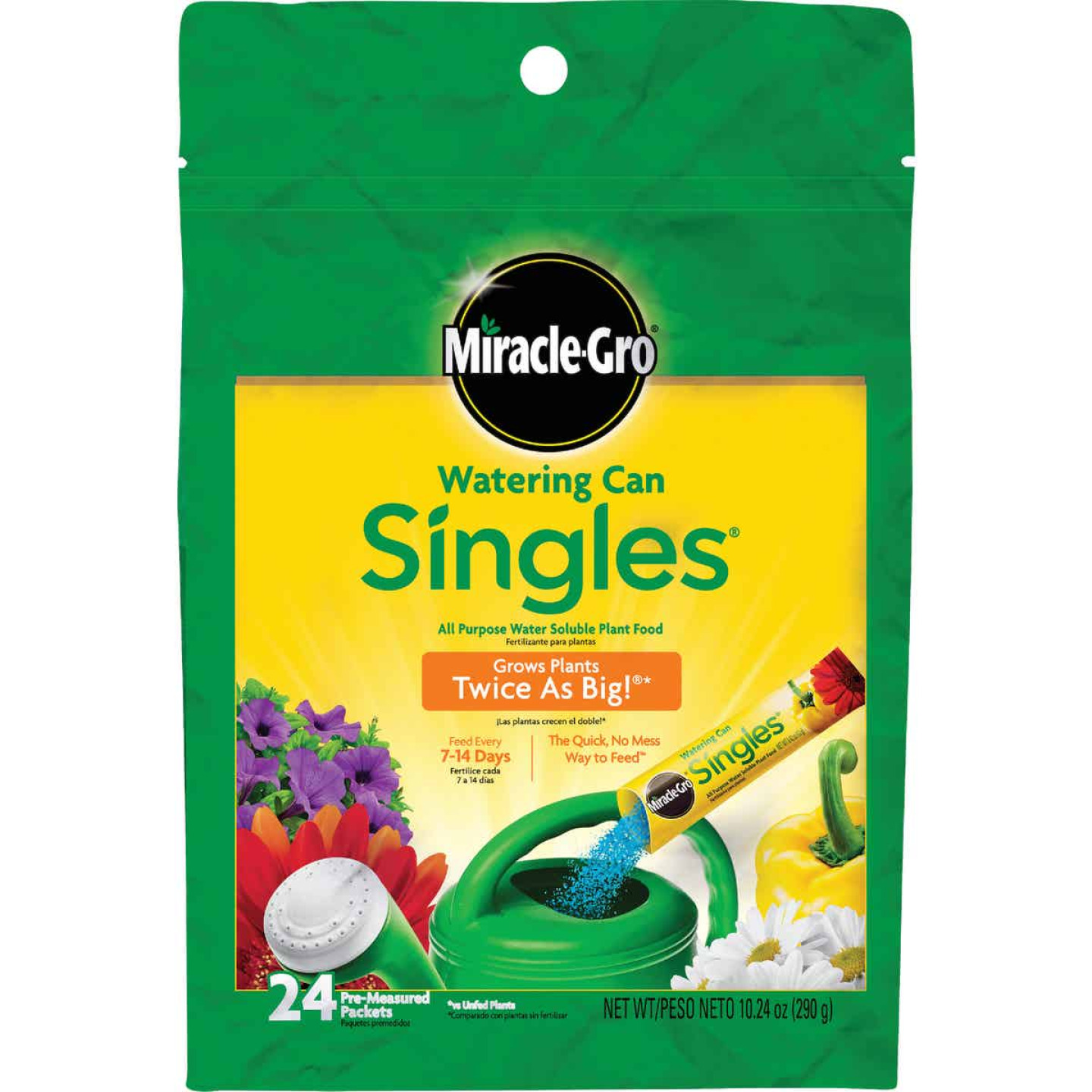 Miracle-Gro Watering Can Singles 24-8-16 Dry Plant Food (24-Count) Image 1