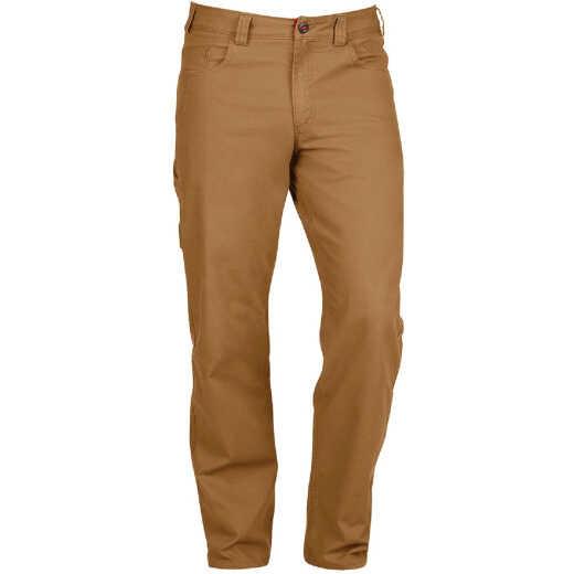 Milwaukee Flex Khaki 38 x 32 Heavy-Duty Work Pants