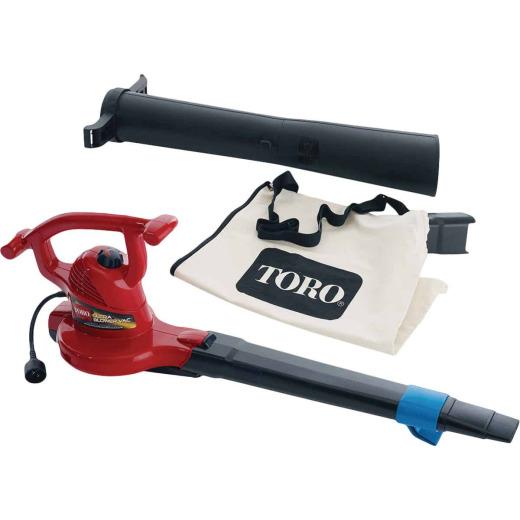 Toro Ultra 250 MPH 410 CFM 12 Amp Electric Blower/Vacuum/Mulcher