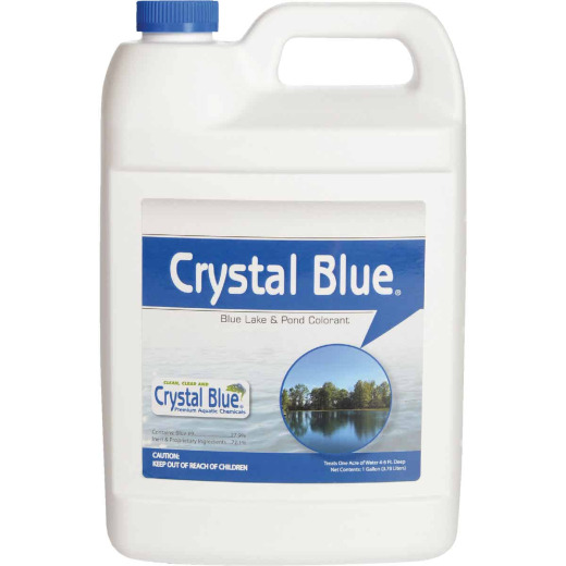 Crystal Blue 1 Gal. 1-Acre Blue Lake & Pond Colorant