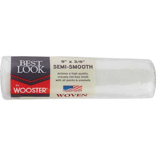 Best Look By Wooster 9 In. x 3/8 In. Woven Fabric Roller Cover