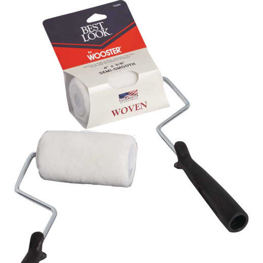 Best Look By Wooster 4 In. x 3/8 In. Woven Paint Trim Roller