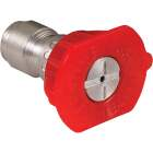Mi-T-M 4.0mm 0 Degree Red Pressure Washer Spray Tip Image 1